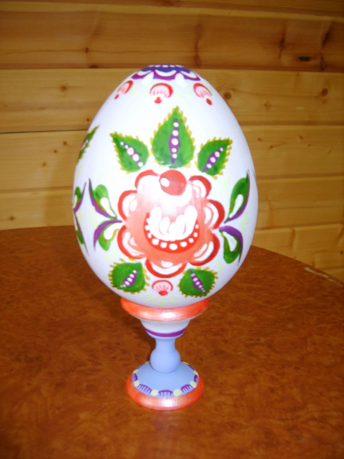 Мастер-класс по росписи пасхальных яиц для детей